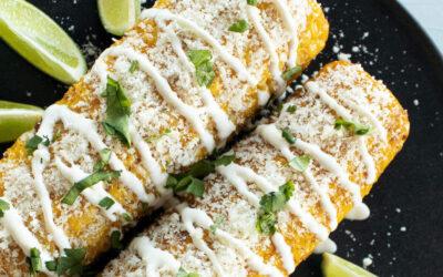 Mexicaanse maiskolven